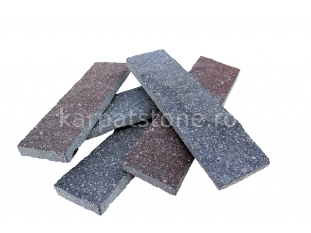 Enkara - Blue-lilac andesite, cutted 5 cm x free length