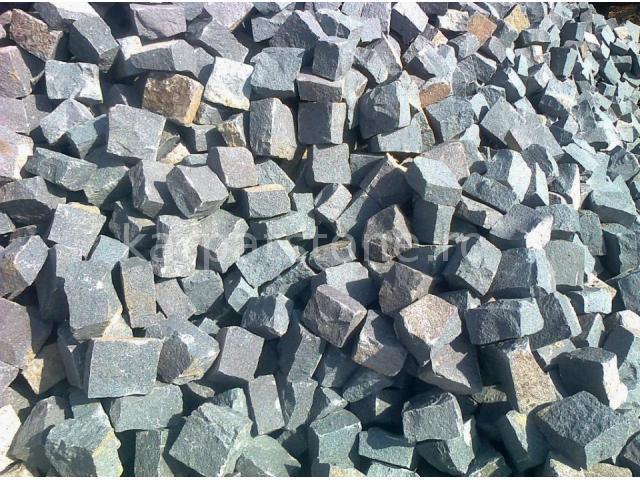 Gurghiu - Grey andesite cobblestone 10 x 10 x 4-6 cm