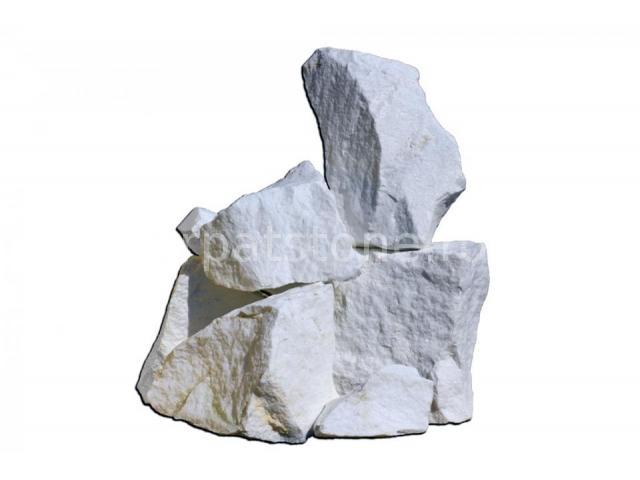 Stanci de Marmura Alba 20-40 cm 2