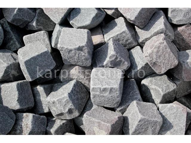 Andezit antic - piatra cubica 10 x 10 x 10 cm