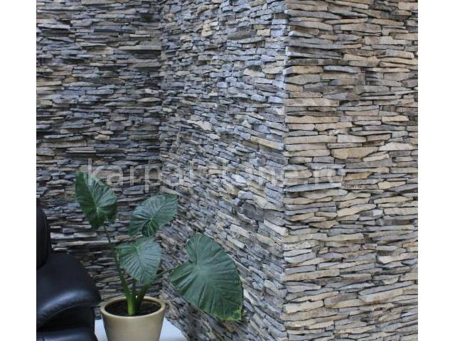 Enkara - Grey-brown andesite, mediterranean style, for exterior and interior wall cladding