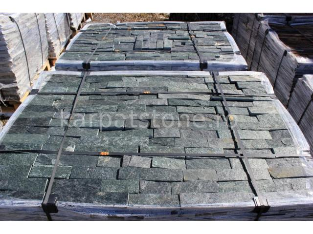 Eskola - Dark green gneiss, cutted 5 cm x free length