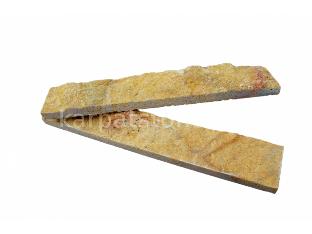 Euphrates - Dark yellow limestone, narrow strips
