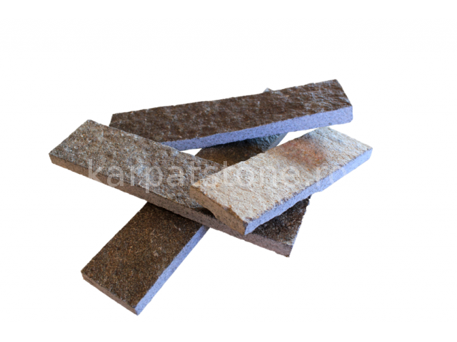 Enkara - Braungrauer Andesit - geschnitten 5 cm x variabler Länge