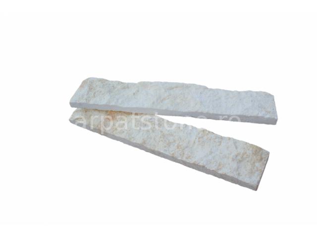 Eufrates - Calcar alb îngust, formă tăiată (dimensionată)