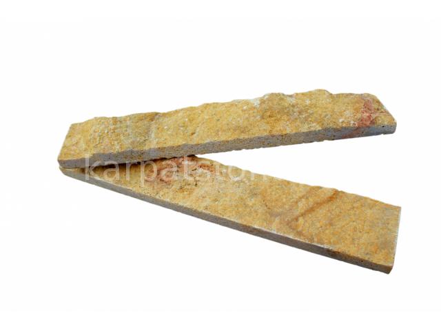 Eufrates - Calcar galben închis, formă tăiată (dimensionată), îngust