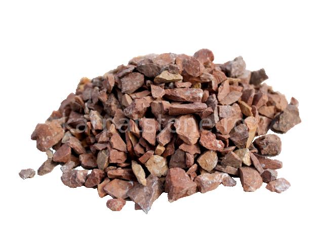 Mozaic roşcat 10-30 mm, Piatră măcinată ornamentală
