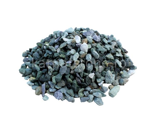 Mozaic verde închis 5-10 mm, Piatră măcinată ornamentală