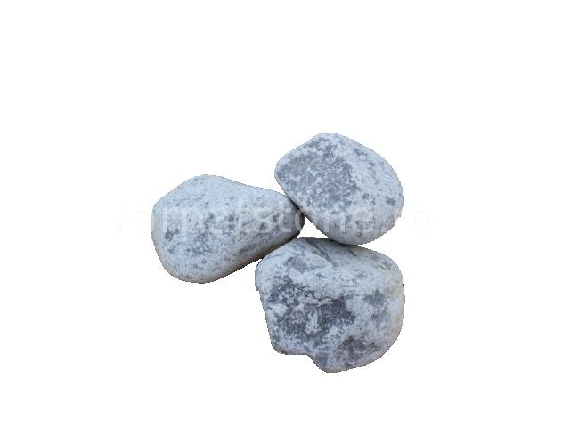 Alb ca nor 60-100 mm, Piatră rotundă ornamentală