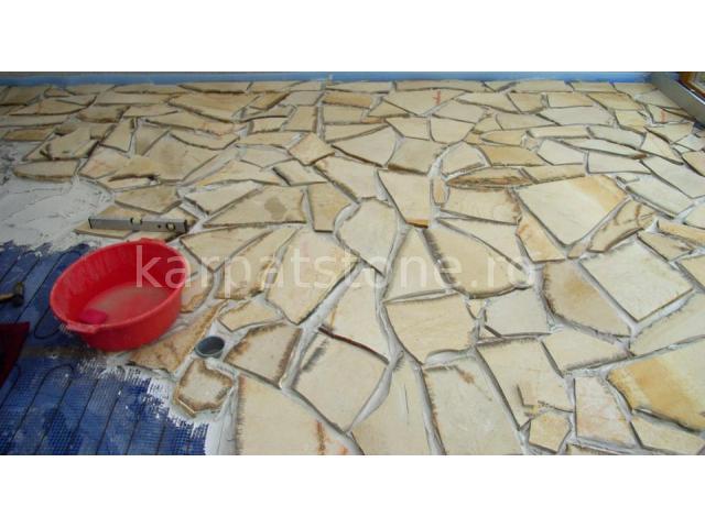 Solnhofen - Yellow limestone 13-19 mm, irregular form