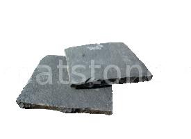 Mistic - Bazalt antracit, formă tăiată (dimensionată) şi cioplită