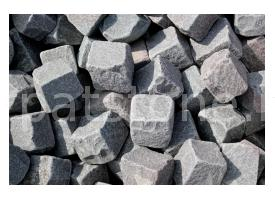 "Gurghiu - ""Antique"" grey andesite cobblestone 10 x 10 x 10 cm"