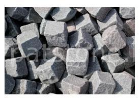 Gurghiu - Grauer Andesit - ''antiker'' Quadratstein
