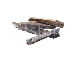 Enkara - Grey-brown andesite, mediterranean style, for exterior and interior wall cladding