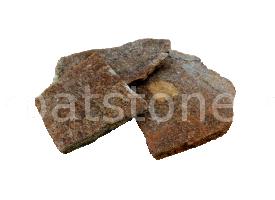 Eskola - Gnais maro, formă neregulată (poligonală), cu grosime de 1- 2,5 cm