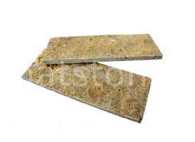 Eufrátesz - Mustár-barna mészkő 8 x 22 x 1-1,5 cm