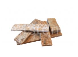 Eszkola - Aranysárga gneisz, méretezett, vágott