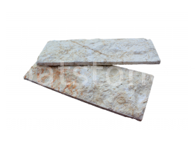 Euphrates - White limestone, cutted 8 x 22 x 1-1,5 cm