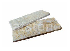 Euphrates - Light yellow limestone 8 x 22 x 1-1,5 cm
