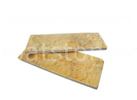 Euphrates - Dark yellow limestone, cutted 8 x 22 x 1-1,5 cm