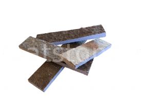 Enkara - Andezit maro-gri, formă tăiată (dimensionată) 5 cm x lungime liberă